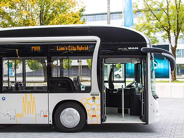Acceso del Lion's City Hybrid