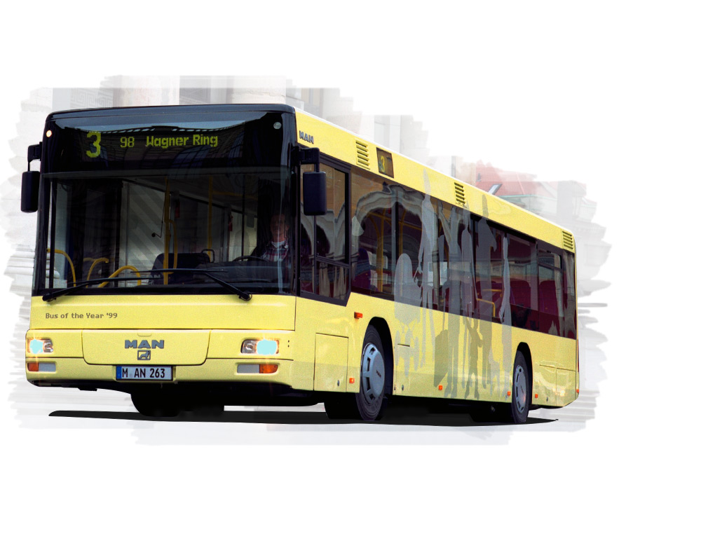 """MAN Lion's City"" – 1999 m. ""Bus of the Year"""