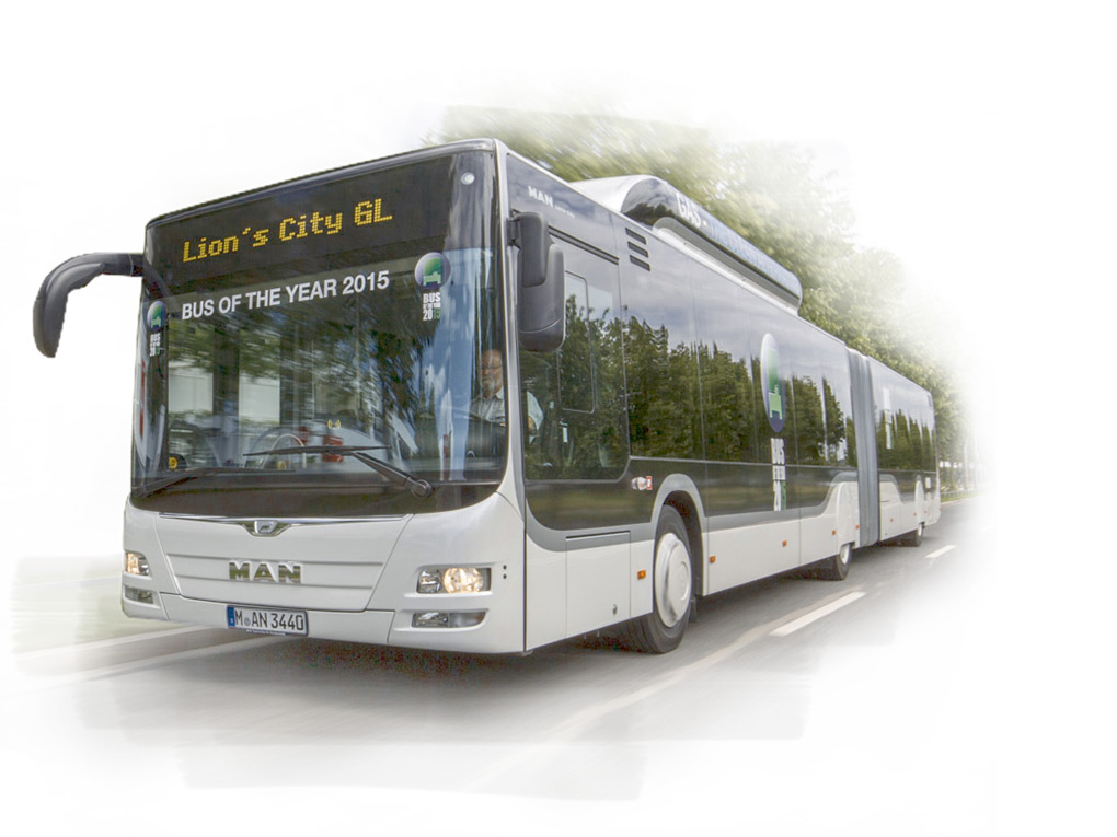 MAN Lion's City GL CNG - Lauréat du prix Bus of the Year 2015