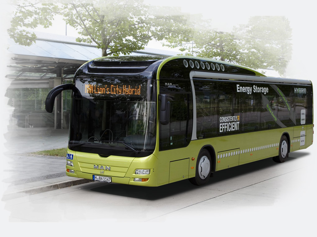 MAN Lion's City Hybrid modeli - 2012 Green Bus Award ödülü kazananı