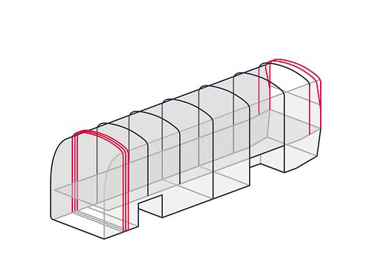 Оптимизированная конструкция каркаса MAN Lion's Coach для максимальной безопасности