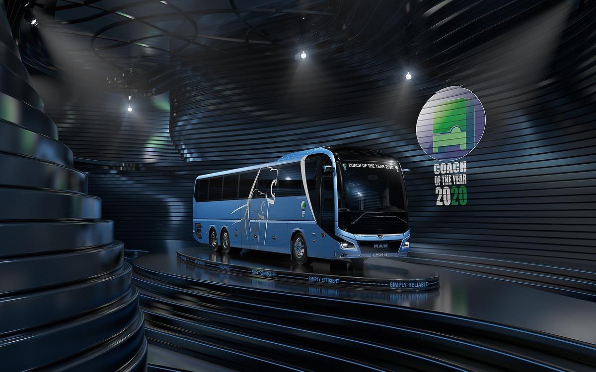 Автобус MAN Lion's Coach получил статус Coach of the Year 2020