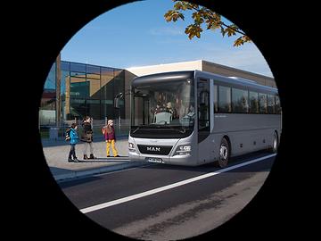 MAN Lion's Intercity: как будто создан для того, чтобы быть школьным автобусом