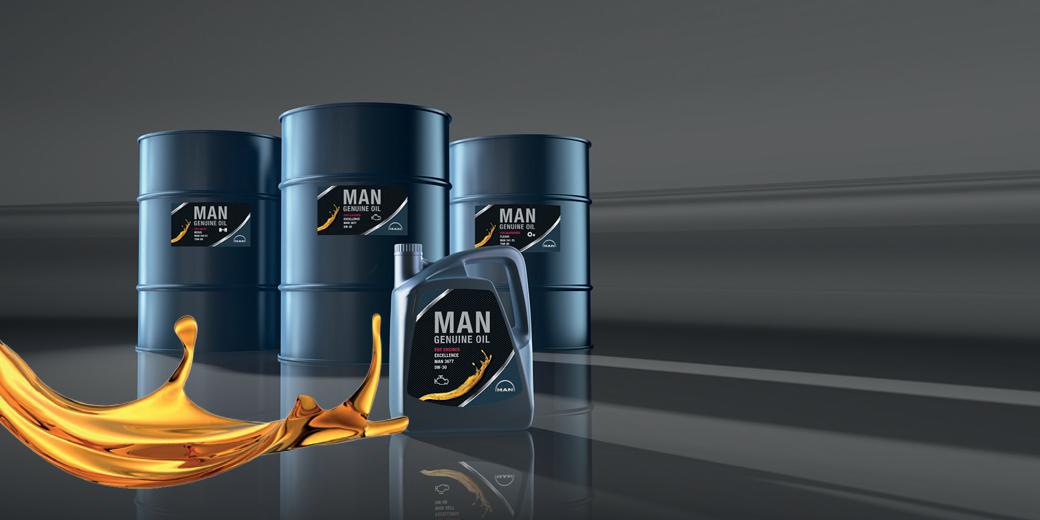 MAN Genuine Oil